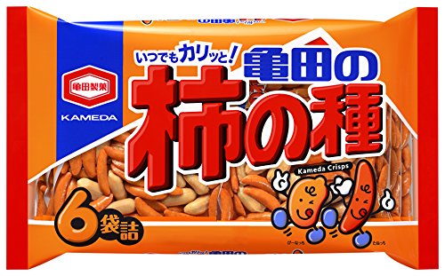 亀田製菓フレッシュパック 柿の種 6袋詰 200G × 12袋