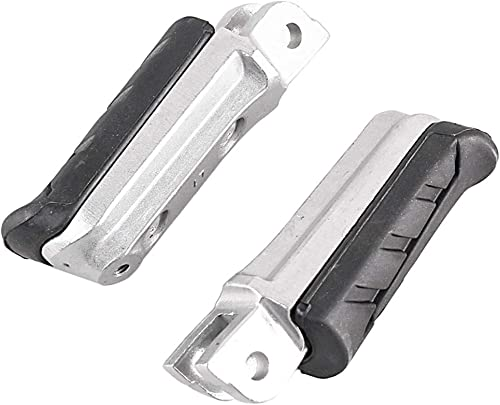 new arrival Mallofusa Aluminum Motorcycle Front Foot Pegs Footrests Compatible for Honda CBR1000 FH/FJ CB1300 F3/F13 sale 2003-2004 CBR600 FK/FL NTV600 J/K online sale Revere CB500 V 1997-1998 online sale