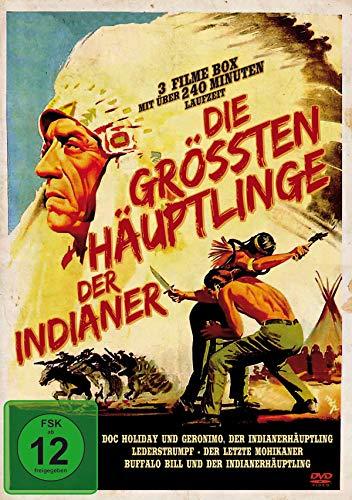 Die größten Häuptlinge der Indianer - Western Edition (3 Filme)
