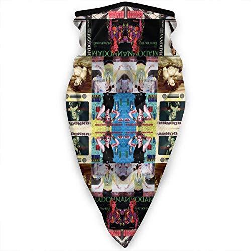 WlQshop Outdoor Schlauchschal Madonna Collage Sun Dust Protection Warmer Schal