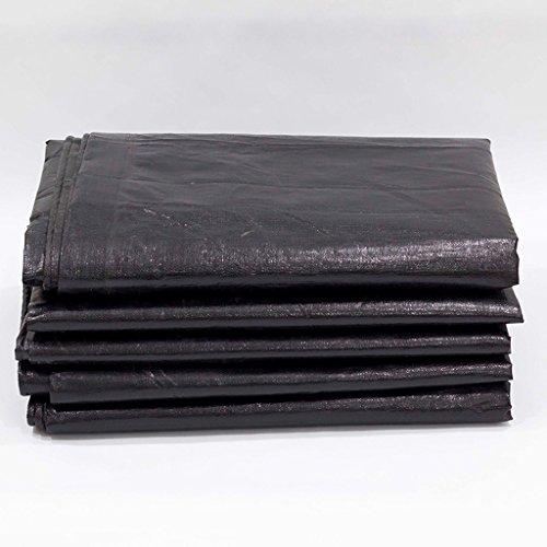 Bâches de protection Épais Noir Tissu de Pluie Tissu imperméable à l'eau de Protection Solaire Tissu en Plastique Tricycle Camion bâche Anti-UV (Color : Gray, Size : 300cm*400cm)