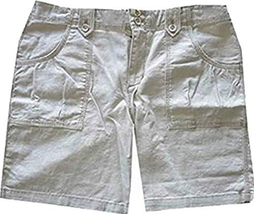 Eddie Bauer Shorts aus Leinen Damen Hellbraun Gr. 8 (38)