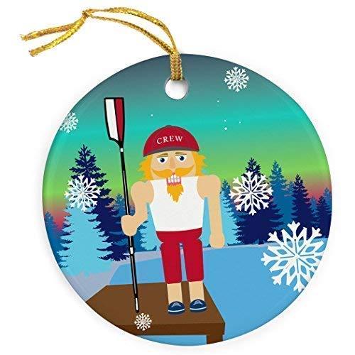 Cukudy bemanning keramische kerst ornamenten 2018 nieuwigheid notenkraker kerst