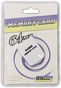 Memory Card for Wii Console 64 MB  1019 Blocks
