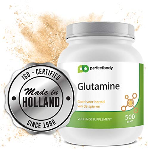 L-glutamine Poeder [500 Gram] PerfectBody.nl