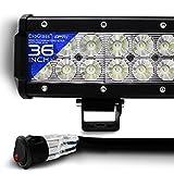 OPT7 C2 Series 36' Off-Road CREE LED Light Bar (Flood/Spot Auxiliary Lamp Combo 20000 lumen)