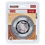 KREATOR KRT020403 - Disco de sierra madera 130mm40d