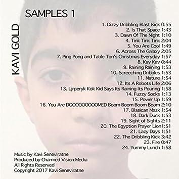 Kavi Gold: Samples 1