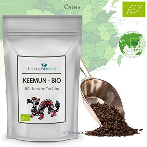 Schwarzer Tee China Keemun - BIO 100 Gramm
