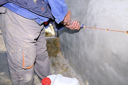 1L Horizontalsperre Mauertrockenlegung Abdichtung gegen Feuchte Wände Abdichten Schimmel im Keller Bauwerksabdichtung Kellerabdichtung Balkon abdichten