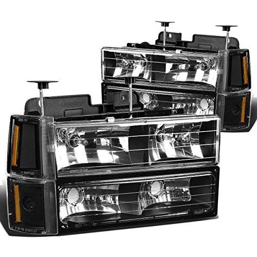 DNA Motoring HLOH8PC103GBKAM Headlight (Driver & Passenger Side)
