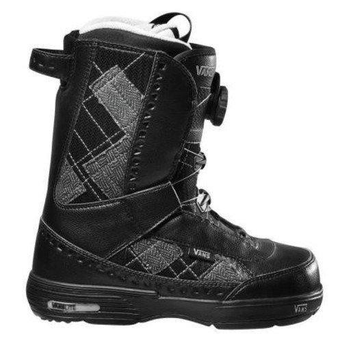 Vans Snowboard Boots Encore Black/Plaid Snow Boots Snowboard Stiefel Schneestiefel, Schuhgrösse:34.5