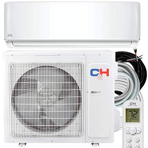 Cooper & Hunter 18,000 BTU Mini Split AC/Heating system Sophia Series 20.8 SEER, 208/230 V with 25ft Installation Kit