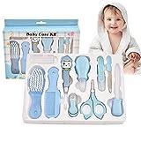Aloces 10 Teile Babypflege Set, Neugeborene Babypflege Zubehör, Safety Cutter Baby Nail...