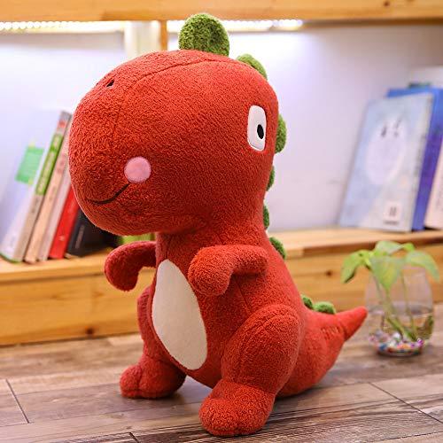 LYXBWT Tyrannosaurus Juguete de Felpa Dinosaurio muñeca Comodidad Almohada muñeca de Trapo niños Regalo de cumpleaños 110 cm Rojo