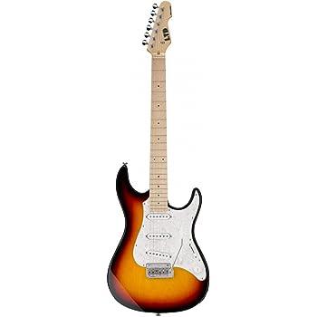 LTD Guitars & Basses TE-200M BLK- Guitarra eléctrica: Amazon.es ...