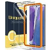 [2 Pack] UniqueMe Protector de Pantalla para Samsung galaxy note 20 5G / 4G, Vidrio Templado [9H Dureza] HD Film Cristal Templado [Soporte de Desbloqueo de Huellas Digitales]