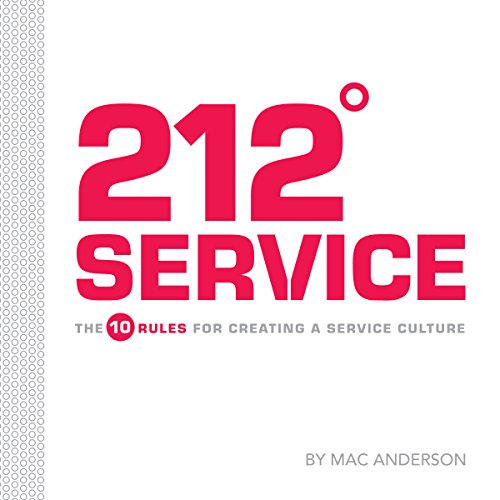 212º Service: The 10 Rules for Creating a Service Culture audiobook cover art