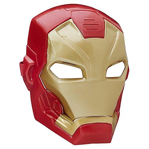 Hasbro Marvel Avengers- Marvel Capitan America-Maschera Elettronica Iron Man, Multicolore, B5784EU40