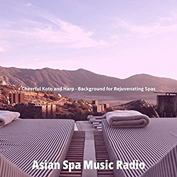 Cheerful Koto and Harp - Background for Rejuvenating Spas
