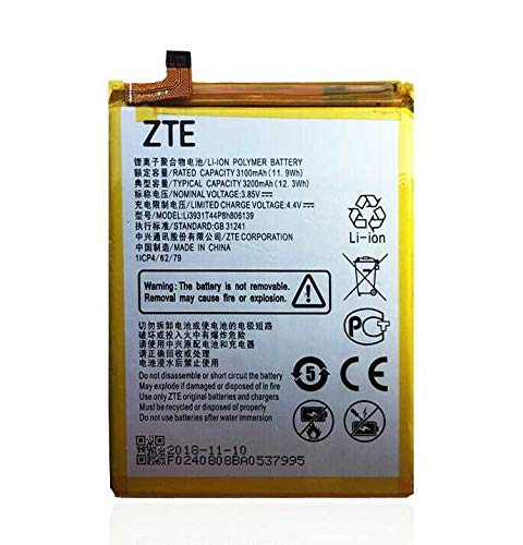 Todobarato24h Bateria Compatible con ZTE Blade V9 V10 /V9 Vita / V10 Vita/ A7 Vita / A4 A0722 /A5 3200 mAh Li3931T44P8h806139