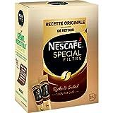 Nescafé Spécial Filtre Café Soluble, Boîte de 25 Sticks - Lot de 6 Boîtes