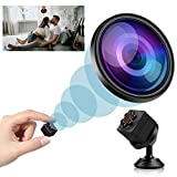 Mini Spy Camera Wireless Hidden, 2020 Full HD 1080P Portable Small Nanny Cameras Covert Cop Cam, Micro USB Security...