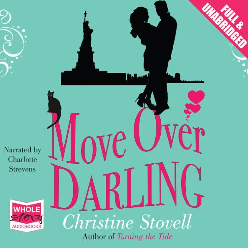 Move Over Darling audiobook cover art