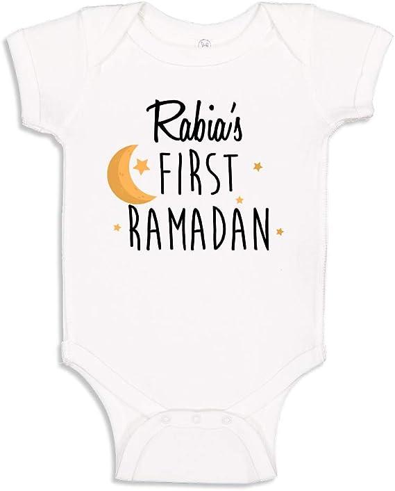 Newborn Baby Gift It/'s My First Ramadan Baby Onesie\u00ae I Can/'t Keep Calm 1st Ramadan Shirt Muslim Baby Onesie\u00ae Muslim Kids Clothing