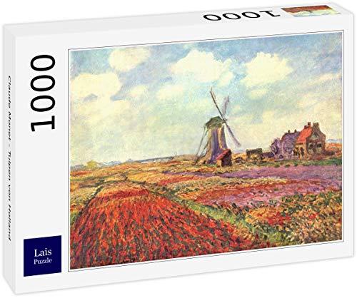 Lais Puzzle Claude Monet - Tulipanes de Holanda 1000 Piezas