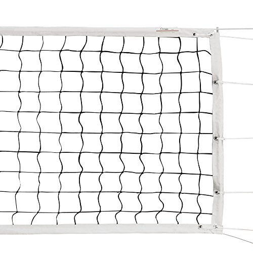 Champion Sports VN600 Official Tournament and Olympic Sized Volleyball Nets, Tournament (32' x 3')