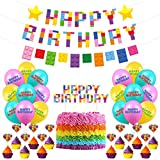 Building Block Birthday Party Su...