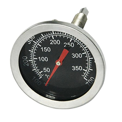 Onlyfire BBQ Charcoal Smoker Gas Grill Char-Grillers Dial 2' (52MM) Thermometer Temperature Gauge