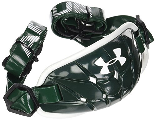 Under Armour mens Gameday Armour Chin Strap Forest Green (301)/White One Size Fits All