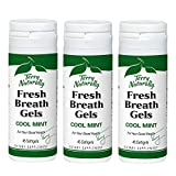 Terry Naturally Fresh Breath Gels (3 Pack) - Cool Mint Flavor, 45 Softgels - Sugar-Free Peppermint...