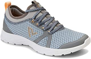 Women's Brisk Alma Lace-up Sneakers - Ladies Walking Shoes with Concealed Orthotic Arch Support