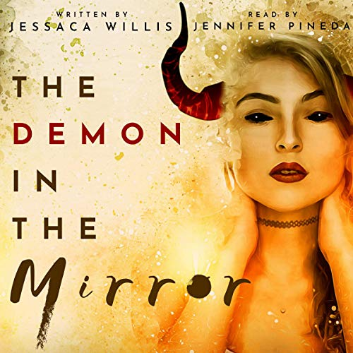 The Demon in the Mirror audiobook cover art