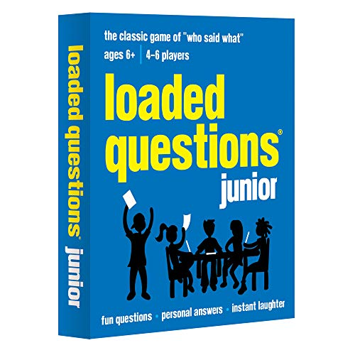 All Things Equal, Inc. Loaded Questions Junior Card Game