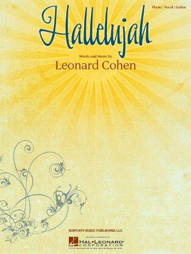 Leonard Cohen: Hallelujah (Noten - Einzelausgabe)