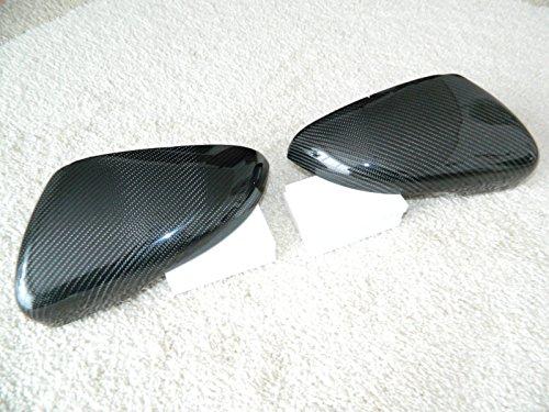 Carbon Spiegelkappen Spiegel Mirror Replacements Cover passend für Golf 6 GTI R20 GTD