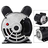 3HP Electric Motor, Electric air compressor One/Single Phase 60Hz AC Motor for air Compressor 3480 RPM 5/8' Shaft 14.7 AMP 56 Frame Heavy Duty