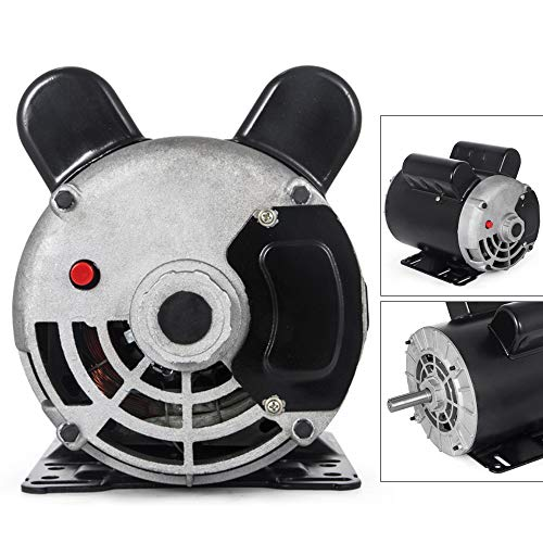 3HP Electric Motor, Electric air compressor One/Single Phase 60Hz AC Motor for air Compressor 3480 RPM 5/8