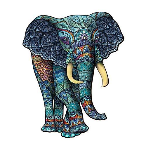 Elefant Holzpuzzle - ab 6 Jahren
