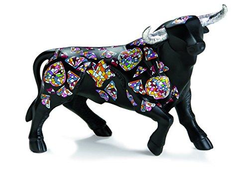 Nadal Figura Decorativa Toro Grande, Resina, Multicolor, 17.90x8.70x13.50 cm