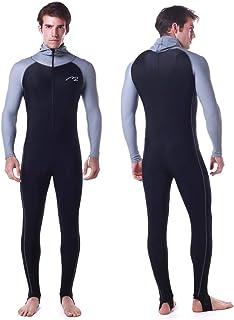 Rash Guard UPF 50+ UV Sunprotection for Men Women Full Body Diving Suit Breathable Sports Dive Skins for Snorkeling Swimmi...