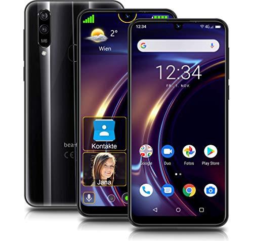 Beafon M6 Smartphone, schwarz