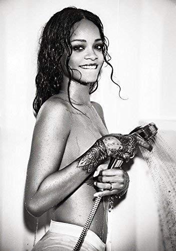 Rihanna Anti Foto Poster Unapologetic Loud Bewertet R Puma Parfüm Hemd 010 (A5-A4-A3) - A4