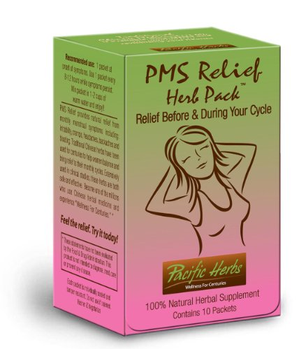 Pacific Herbs PMS Relief Herb Pack, which contains Corydalis and 12 other herbs, provides natural relief from monthly menstrual symptoms including irritability, mood swings, cramps, headaches, backaches, body aches, breast tenderness and bloating. Ov...