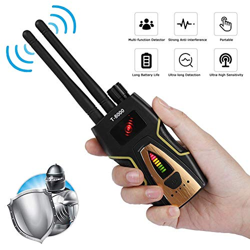 Review Of Hidden Camera Locator, GPS Tracker Detector Jammer, RF Signal Bug Detector, for Anti-Spy A...