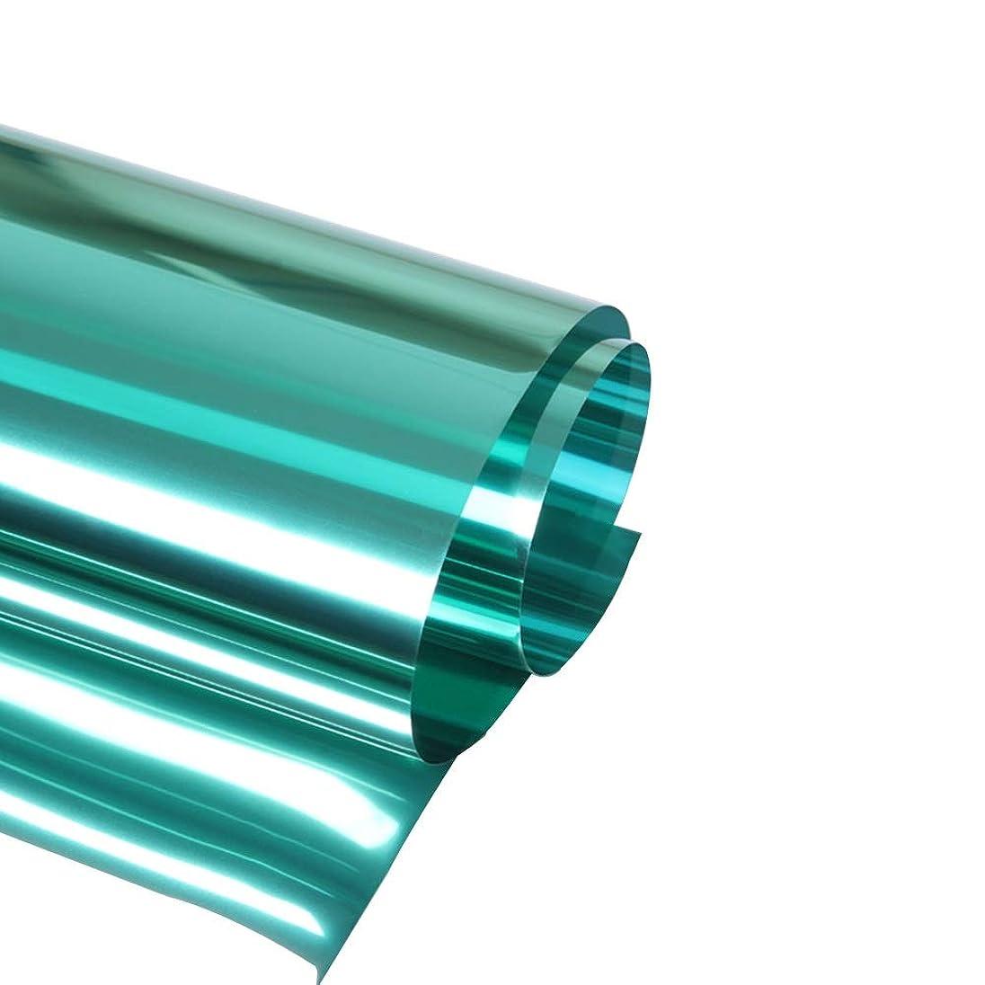 輝く欠乏引き付けるBAOMEI ウィンドウフィルム 一方向ウィンドウフィルム、日中プライバシー保護ミラー反射ガラスフィルムブラックアウトと断熱ホームオフィス用断熱UV窓ステッカー 家庭用およびオフィス用 (Size : 35inch × 3feet)